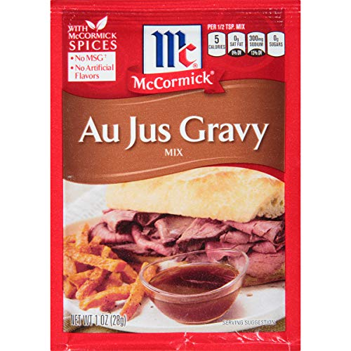 McCormick Au Jus Gravy Mix, 1 oz (Pack of 12)