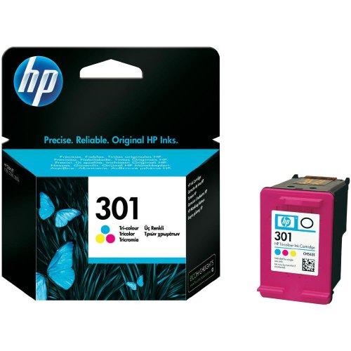 HP 301 Tri-Color Ink Cartridge BLISUPL