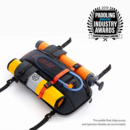 Gearlab Deck Pod - Kayak/SUP Deck Bag, Paddling Magazine Award Winner 2019, Suitable for Holding Paddle Float, Bilge Pump