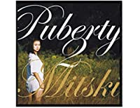 Mitski Puberty2ミュージックアルバムウォールアートポスターキャンバス絵画リビングルーム室内装飾装飾(60X60Cm)-24x24インチフレームなし