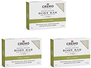 Sponsored Ad - Cremo Exfoliating Sage & Citrus Body Bar, A Revitalizing Combination of Bright Mandarin, Dry Herbs and Whit...