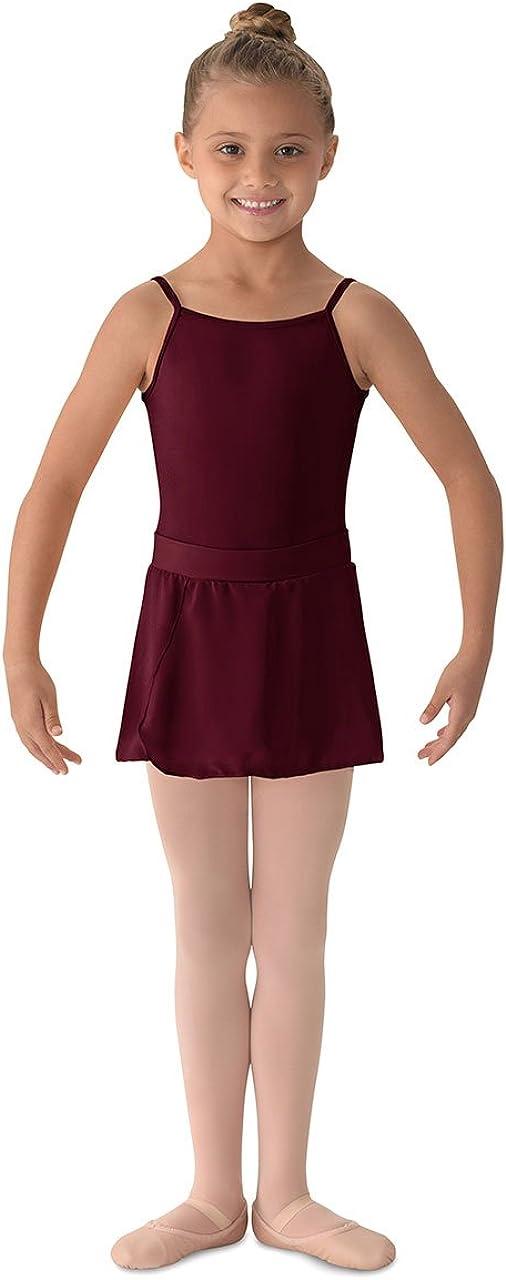Mirella Girls Georgette Mock Wrap Skirt