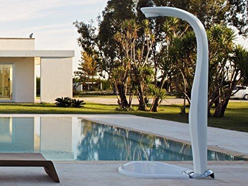 Ducha para interiores exteriores de polietileno con temporizador Dal design moderno para arredare Giardini–Ed Hotel