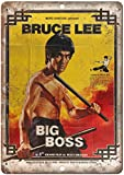 KODY HYDE Metall Poster - Bruce Lee Big Boss Rene Chateau