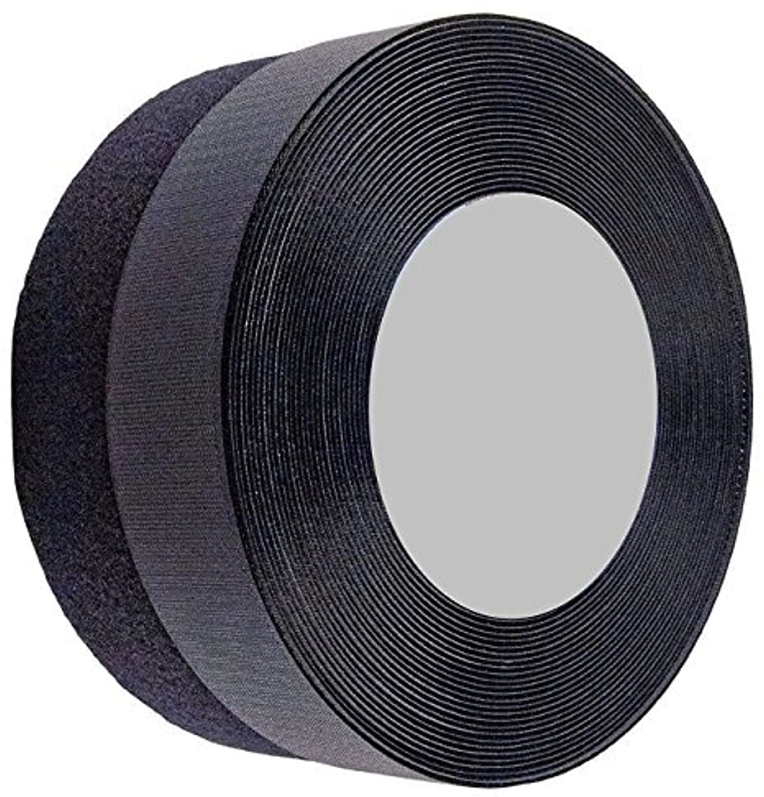Sea Star 1 inch 10 Yards Black Sew on Hook and Loop Sew On Fasteners (1inch 10yards, Black)