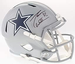 Jason Witten Dallas Cowboys Signed Autograph Full Size Speed Helmet Witten 82 Player Hologram JSA Witnessed Certified