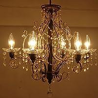 シャンデリア6灯タイプ(リビングの照明)