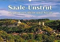 Saale-Unstrut - Region aus Wein und Stein (Wandkalender 2022 DIN A3 quer): Ein Bildkalender aus Deutschlands noerdlichster Weinbauregion (Monatskalender, 14 Seiten )
