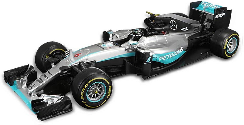 GAOQUN-TOY 1  18 Mercedes-Benz AMG F1-Formel-Rennsimulator Alloy Car Model Adult Collection (Farbe   NO.6)