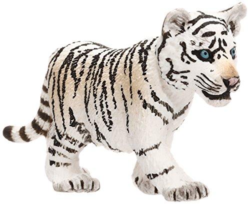 Schleich Schleich-14732 Cachorro de Tigre Blanco, Negro, Col