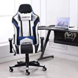 Hironpal Ergonomic PC Gaming Chair High Back Racing Computer Chair PU Leather Desk