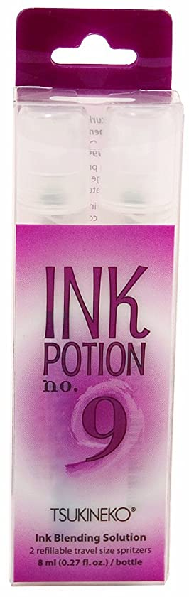 Tsukineko 2-Pack 8-Ml Spritzers Ink Potion Water-Based Blending Fluid
