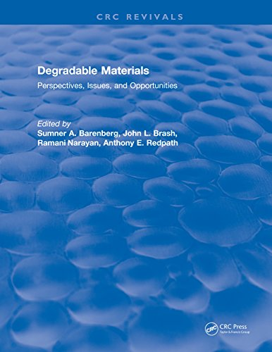 Degradable Materials: Perspectives, Issues, and Opportunities (English Edition)