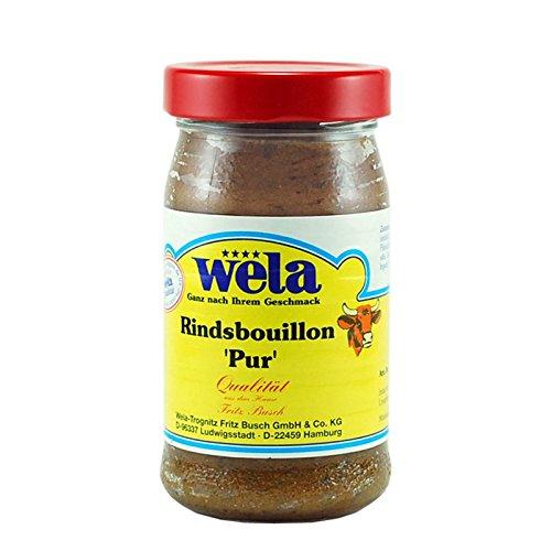 Rindsbouillon 'Pur' - wela 1/2 Glas