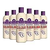 AUSSIE Colour Mate shampoo per capelli vivaci, colorato, 500ml, confezione da 6