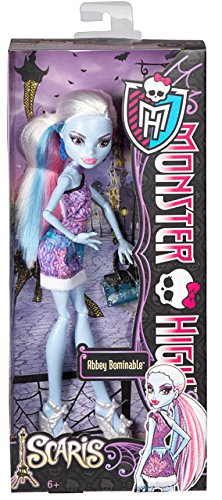 Monster High - Y0393 - Poupée - Abbey Bominable en Week End - City Of Frights