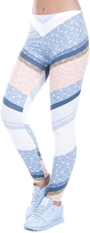 POAONOSS Yoga Pants Printed Women Freeride Deer Dots Legging High Waist Legins Elastic Silm Fit Women Pants Leggings