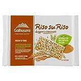 Galbusera - Riso su Riso, Cracker Integrali con Riso Soffiato - 380 g