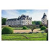 Chateau De Chenonceau, Rompecabezas para niños Puzzles para recoger juguetes