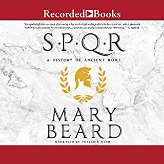 SPQR audiobook cover art
