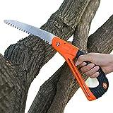 Protect Hands Seghe Professionali per la Lavorazione del Legno,Seghe a Mano per il Taglio del Legno,Sega che può Proteggere le Mani,Adatta per il Taglio del Legno e la Potatura Degli Alberi da Frutto