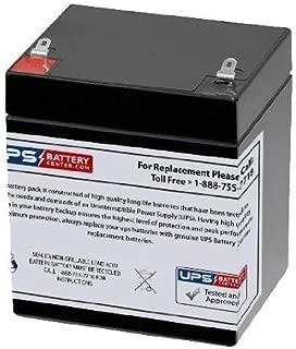 12V 5Ah F1 AGM Battery Replaces D1250, CB4-12, CB4.5-12, CB5-12 F1, BT4-12, BT4.5-12, BT5-12, FP1240, FP1245, FP1250, (12v - 4ah, 4.0ah, 4.2ah, 4.5ah, 4.6ah, 5ah, 5.0ah, 5.4ah)