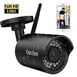 bedee WLAN IP Kamera 1080P HD Überwachungskamera Sicherheitskamera Unterstützt...
