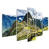 bilderfelix® Bild auf Leinwand Machu Picchu, Peru.
