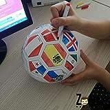 ZOCO Ballon de Football à colorier - Coupe du Monde