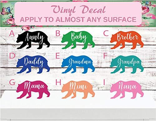 Bear Family Decal