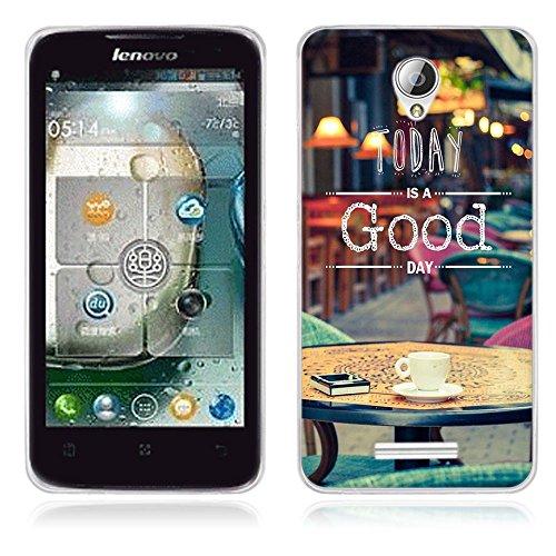 A5000 Cell Phone Case for Lenovo, FUBAODA TPU Aegis Cover for the phone for Lenovo A5000