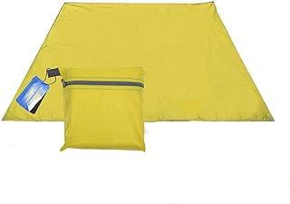 DorisAA camping tält enkel inställning 250 x 150 cm bärbart solskydd för camping tält utomhus vattentätt skydd tak tält (f...