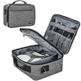 BGTREND Carrying Bag for Mini Projector, Portable Case for DR.J Mini Projector and Accessories, Grey