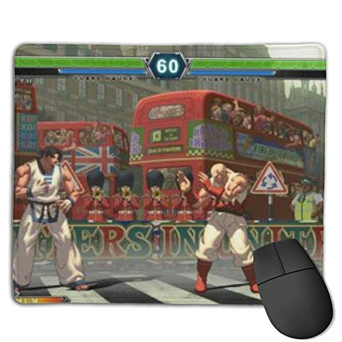 Mausemat The Ki-Ng Of Fighters Working 25X30Cm Weihnachtsschlafsaal Anime Student Gaming Mouse Pads Gummibasis Kundenspezifische Designs Rutschfeste Bürogeschenk Spielecomputer