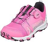 adidas Terrex Agravic Boa K, Zapatillas de Trail Running, ROSCHI/NEGBÁS/FTWBLA, 35.5 EU