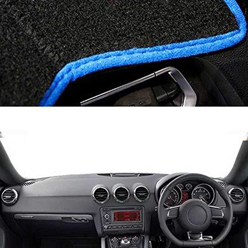 XQRYUB Alfombrilla para salpicadero de Coche, Alfombrilla para sombrilla, para Audi TT TTS 2008-2012