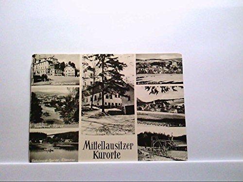 AK Mittellausitzer Kurorte Mehrbilderkartemit Schirigswalde, Wehrsdorf, Sohland Echtes Foto Handabzug Ungelaufen.