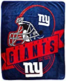 The Northwest Company Officially Licensed NFL 'Grand Stand' Plush Raschel Throw Blanket , New York Giants, 50' x 60'