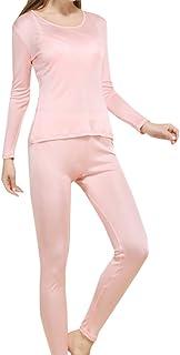Fashion Silk Women's Silk Thermal Underwear Sets | Silk Long Johns for Women | Silk Long Underwear Sets