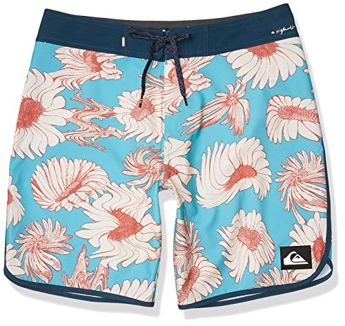 Quiksilver Highline Herren-Badehose, 48,1 cm, Outseam Stretch, Pazific Blue Floral, 33