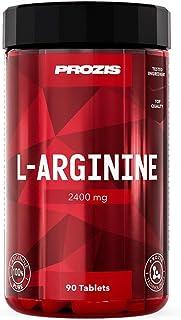 Prozis L-Arginine 2400 mg: Suplemento en comprimidos. Potenciador