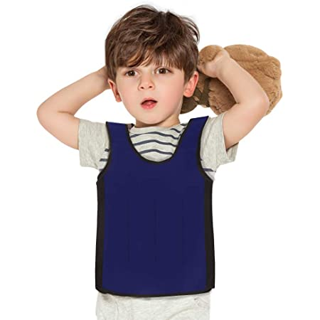 Galagee Sensory Compression Vest for Children- Weighted Vest for Kids with Sensory Issues,Autism, ADD, ADHD, Ages 2-4 (Small)