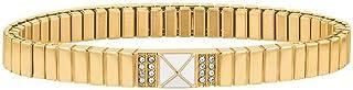 اساور مصنوعة من الستانلس ستيل مطلي بالذهب الايوني للنساء من تومي هيلفجر - موديل 2780139