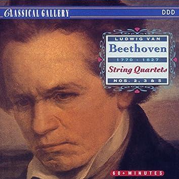 Beethoven: String Quartets Nos. 2, 3 & 5