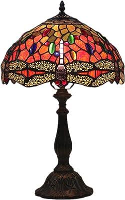 Yongyong Decoración para El Hogar Lámpara De Mesa De Arte ...