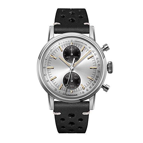 Undone'Urban Silver' Cronografo Ibrido Quarzo Meccanico Acciaio Inox...