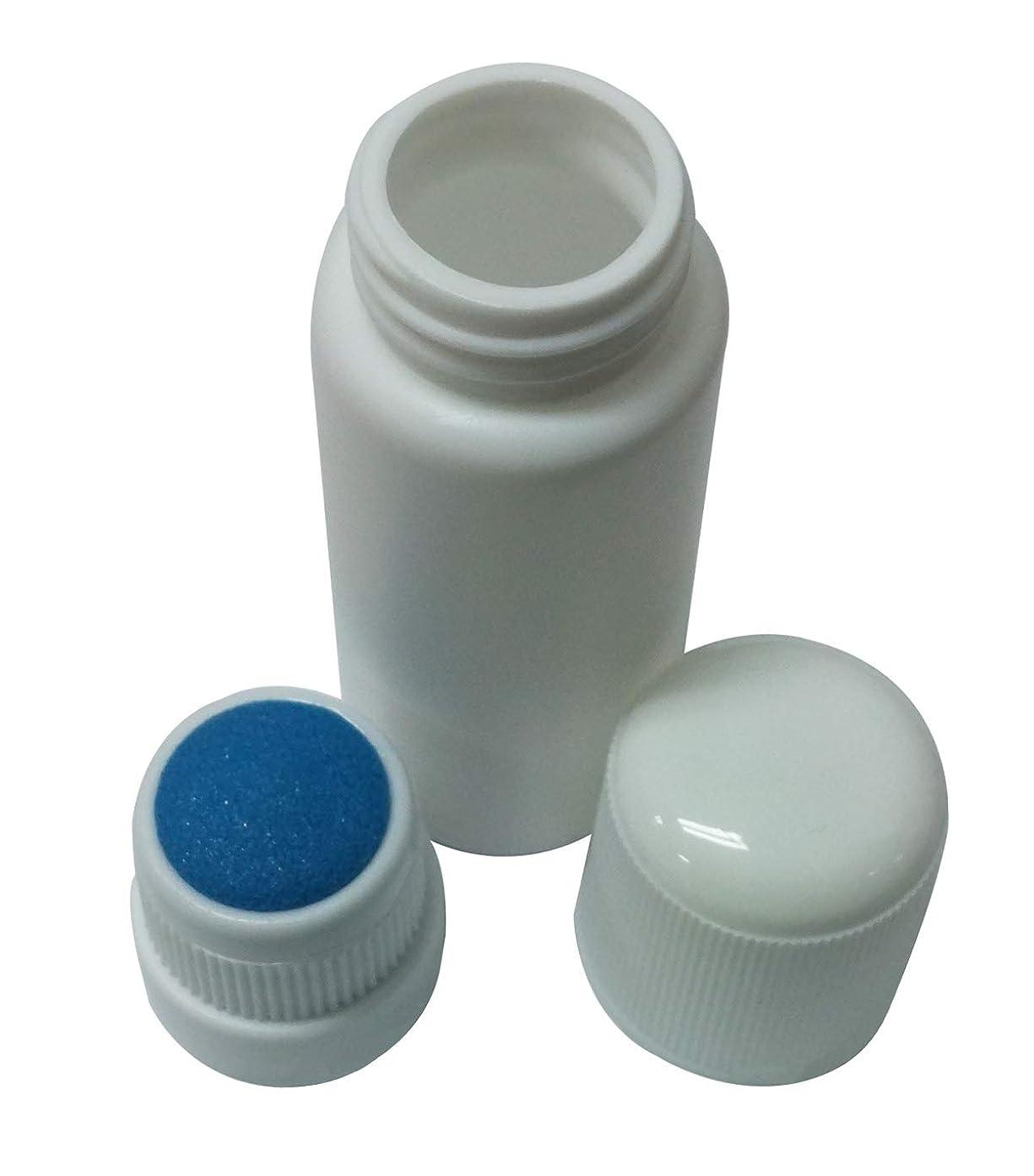 床を掃除する八百屋旅客プラスチック?ボトル エンプティー Plastic Bottle リキッド メディシン Blue スポンジ Top アプリケーター 30ml 並行輸入