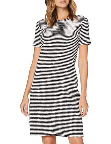BOSS Damen Desamuel Kleid, Schwarz (Black 1), Medium (Herstellergröße: M)