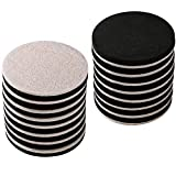16-Pack 3.5 in.Premium Heavy Furniture Movers for Wood Floor,Felt Furniture Slider in a Reusable Tube,3.5' Heavy Duty Felt Furniture Sliders,Furniture Mover,Reusable Furniture Moving Pads-EZHOUSE
