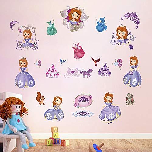 Personalizado Disney Princesa Niños Dormitorio Puerta Firmar-Anna de Frozen-Púrpura